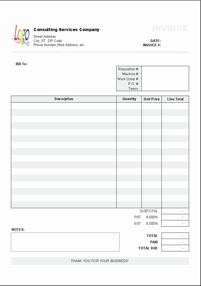 Consulting Invoice Template Word Fresh Excel Based Consulting Invoice Template Excel Invoice