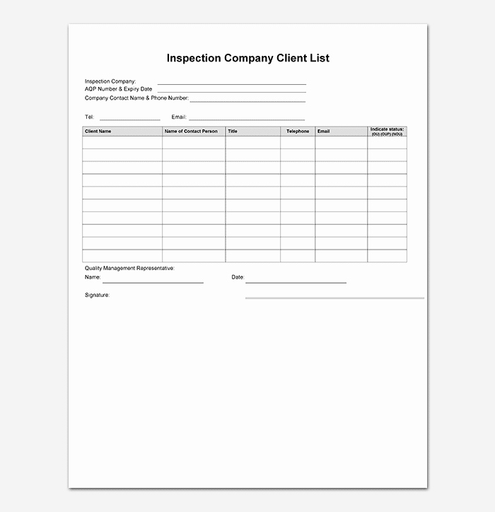 Contact List Template Pdf New Contact List Template – Contact List Template 10 Free Word
