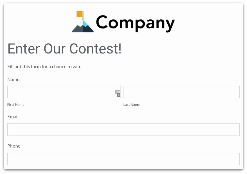 Contest Entry form Template Best Of How Line forms Can Increase Productivity · formstack Blog