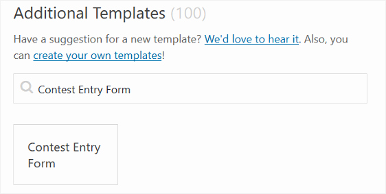 Contest Entry form Template New How to Create A Contest Entry form In Wordpress Step by Step