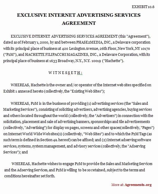 Contract Template Between Two Parties Best Of 5 Contract Agreement Between Two Parties Samples Free
