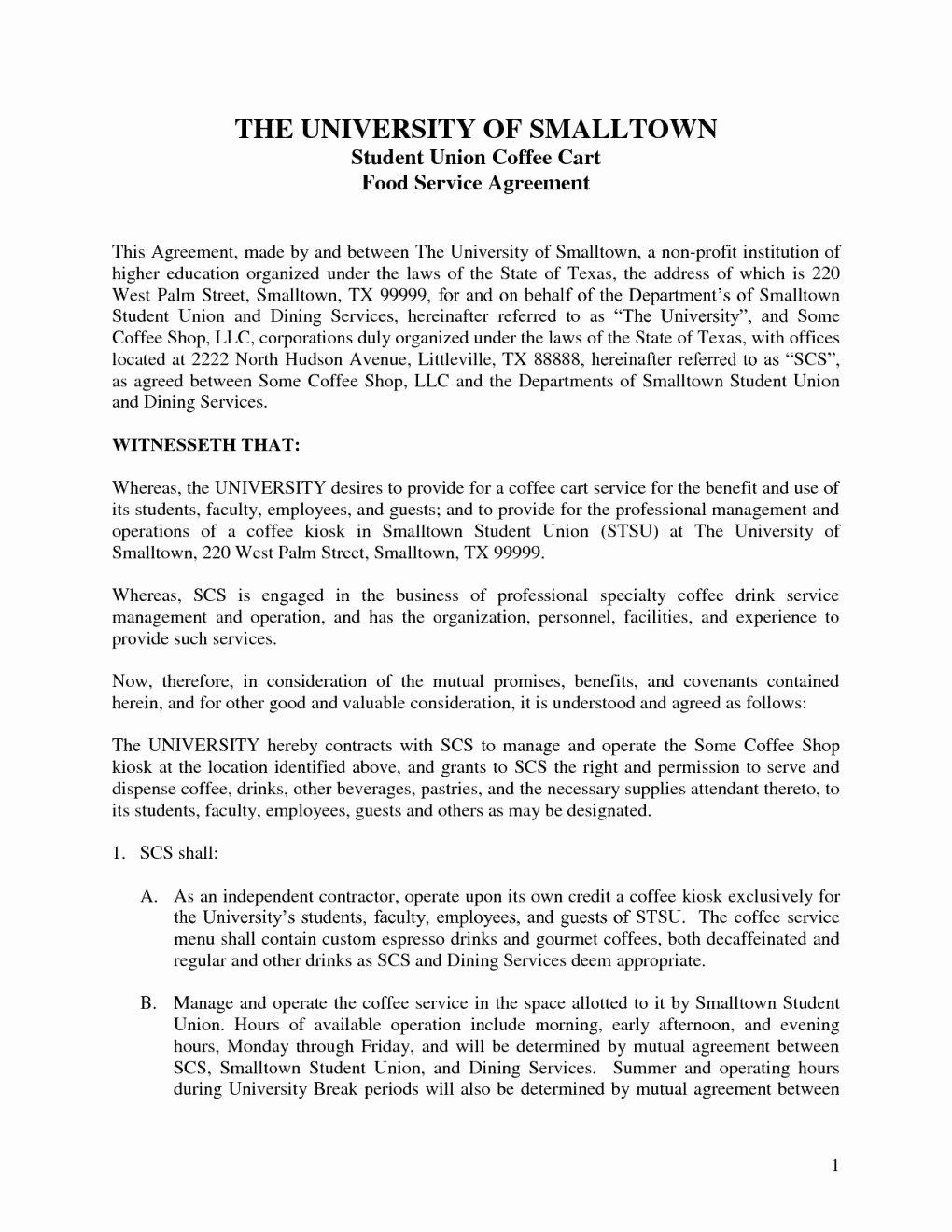 Contract Template Between Two Parties Elegant Sample Contract Agreement Between Two Parties