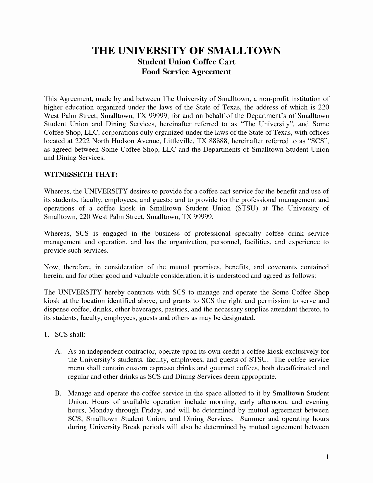 Contract Template Between Two Parties New Agreement Template Category Page 39 Efoza