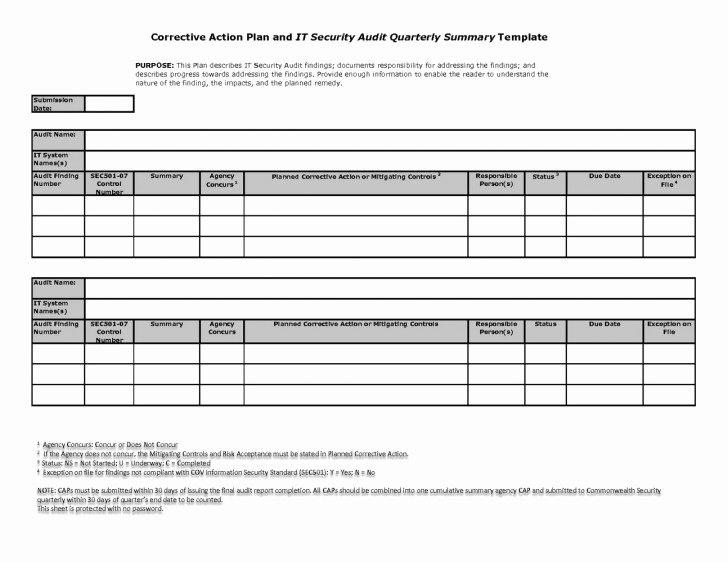 Corrective Action Template Word Beautiful 012 Corrective Action form Word Template Plan Employee
