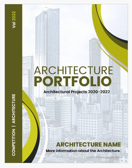 Cover Page for Portfolio Template Awesome Collection Of 1000 Ms Word Cover Pages