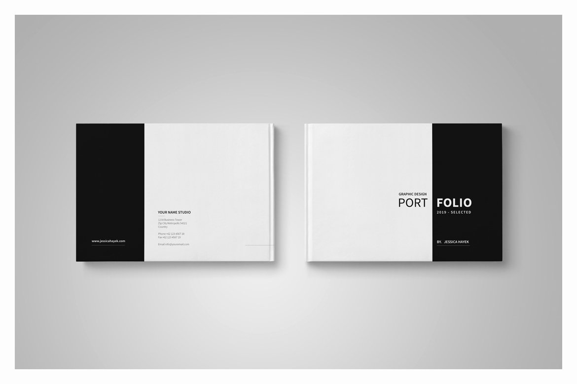 Cover Page for Portfolio Template Beautiful Graphic Design Portfolio Template In Brochure Templates On