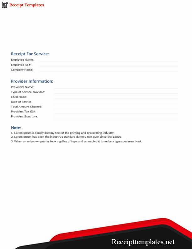 Credit Card Receipt Template Awesome Credit Card Receipt Template [pdf Word Doc & Excel