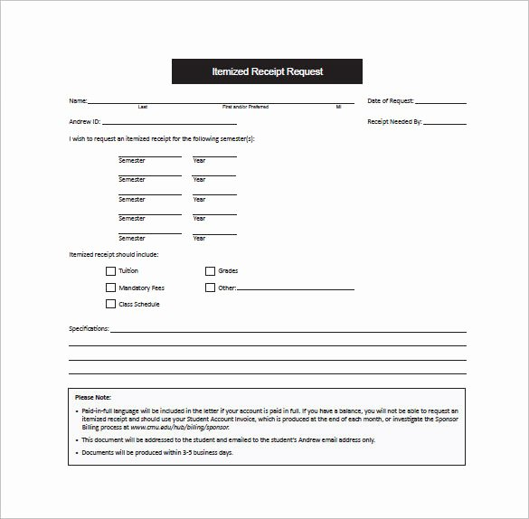 Credit Card Receipt Template Fresh Receipt Template Doc for Word Documents In Different Types