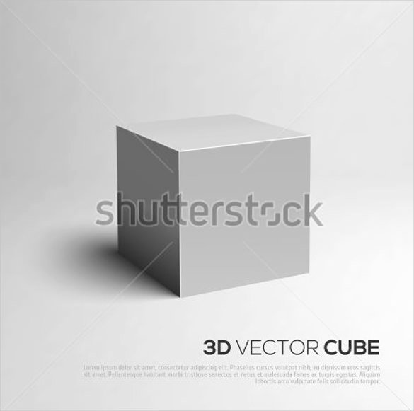 Cube Template Microsoft Word Awesome 3d Cube Template 17 Psd Eps format Download