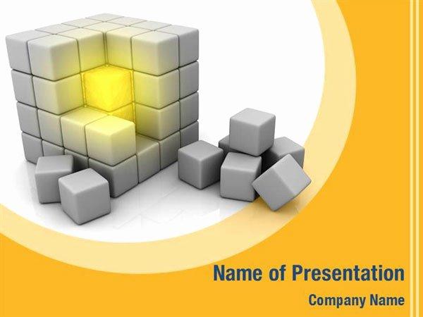 Cube Template Microsoft Word Beautiful Cube Powerpoint Templates Cube Powerpoint Backgrounds