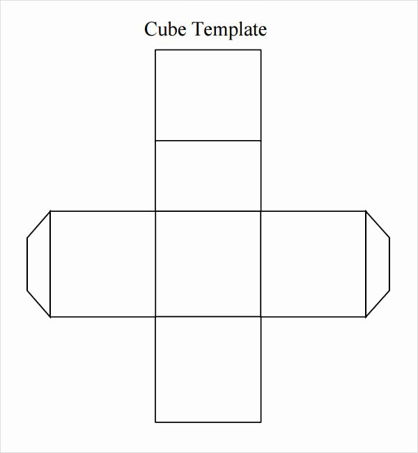 Cube Template Microsoft Word Lovely Cube Template 8 Free Pdf Doc Download