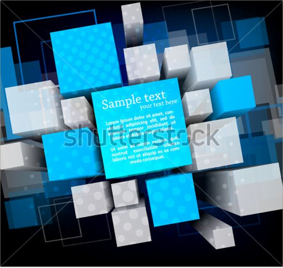 Cube Template Microsoft Word Luxury 3d Cube Template 17 Psd Eps format Download