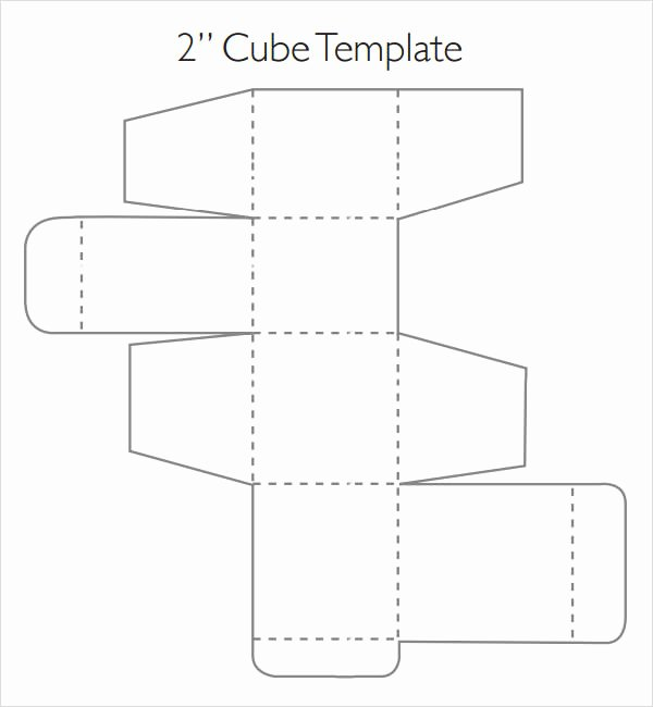 Cube Template Microsoft Word Luxury Sample Cube 8 Documents In Word Pdf