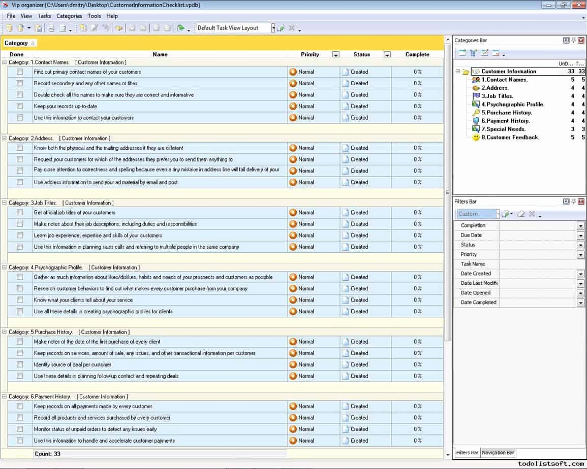 Customer Profile Template Word New 3 Excel Client Database Templates Word Excel formats
