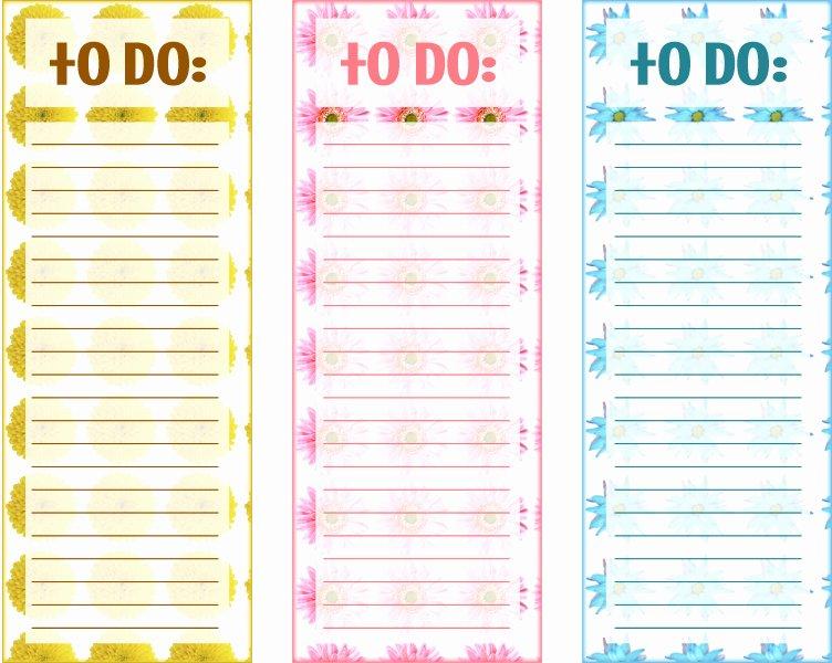 Cute to Do List Template Elegant 40 Printable to Do List Templates