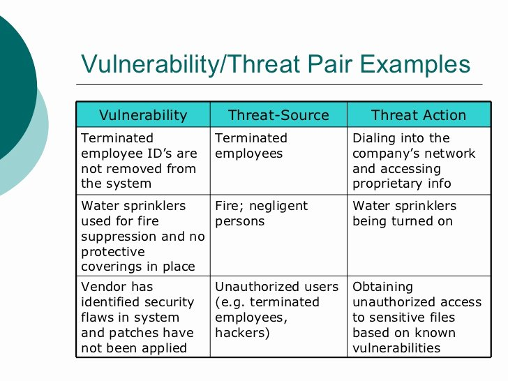 Cyber Security Risk assessment Template Fresh 22 Of Network Vulnerability assessment Template