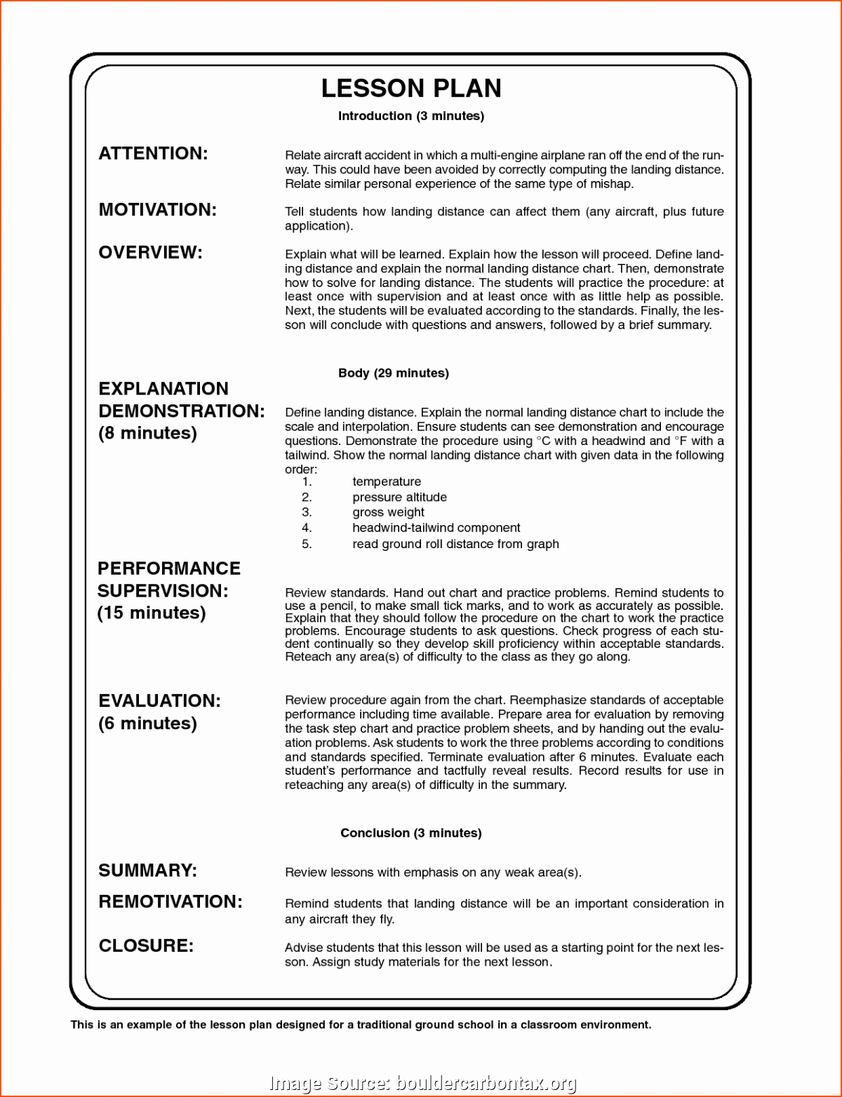 Daily Lesson Plan Template Pdf Luxury Excellent Sample Lesson Plan format Pdf Free Daily Lesson