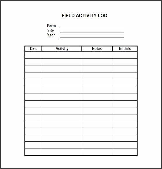 Daily Log Template Excel Beautiful 8 Daily Work Log Template Easy to Edit Sampletemplatess