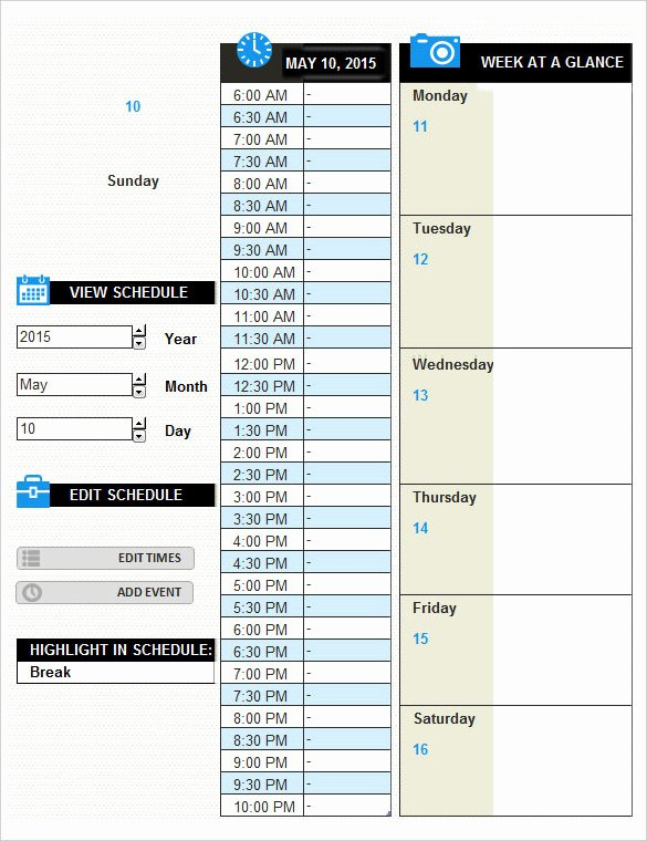 Daily Log Template Excel New 16 Log Templates Free Word Excel Pdf