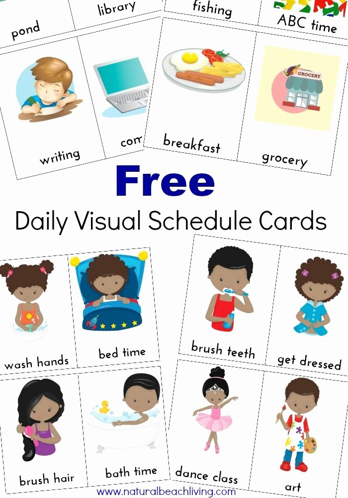 Daily Schedule Template for Kids Awesome Printable Classroom Schedule Template Clipart 20 Free
