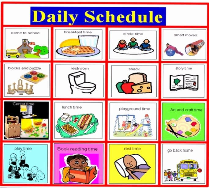 Daily Schedule Template for Kids Unique Reveal the Befit Of Scheduling software for Your Daycare