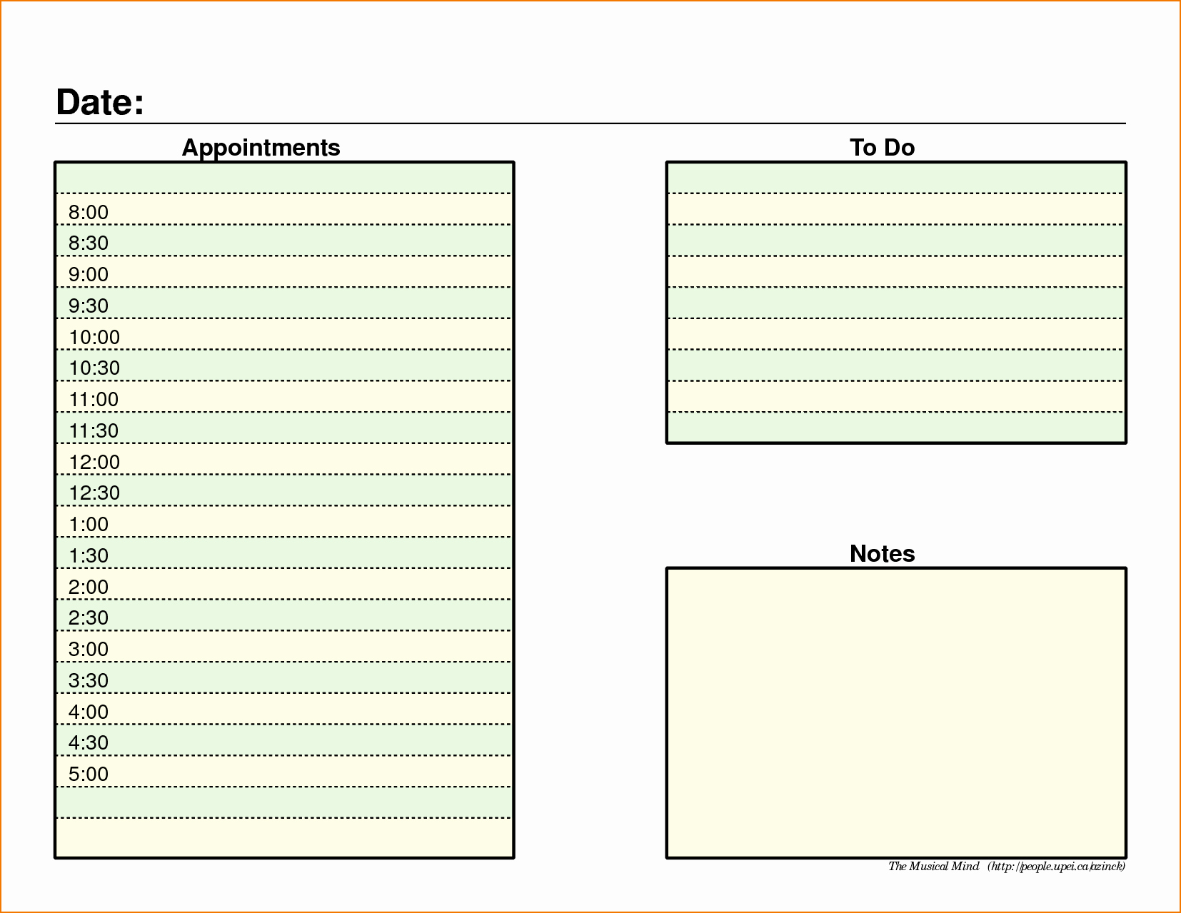 Daily Schedule Template Pdf New 5 Daily Schedule Template Pdf