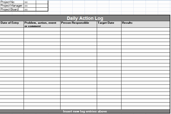 Daily Time Log Template Inspirational 7 Best Of Printable Daily Time Log Daily Work Log