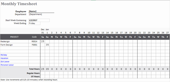 Daily Timesheet Excel Template Luxury Need A Timesheet Template to Track Your Hours Here are 12