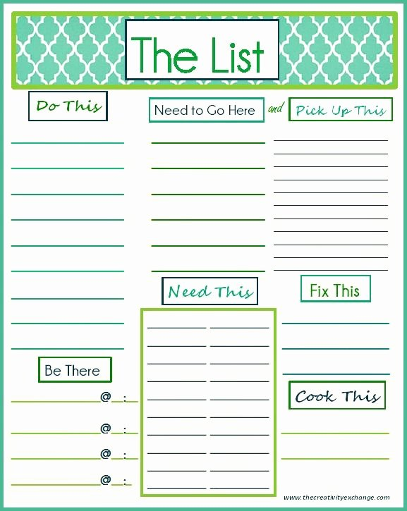 Daily to Do List Template Inspirational 91 Best Images About Printable to Do List On Pinterest