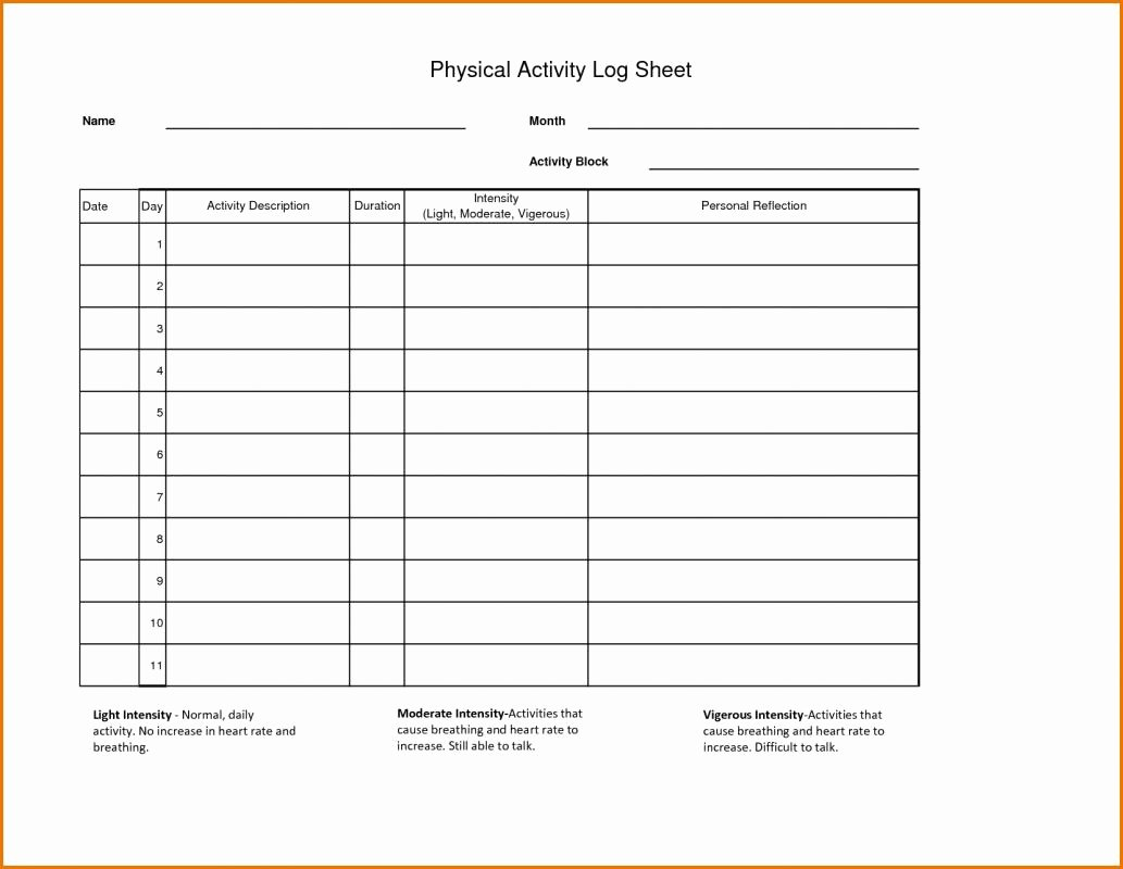 Daily Work Log Template New Daily Work Log Template