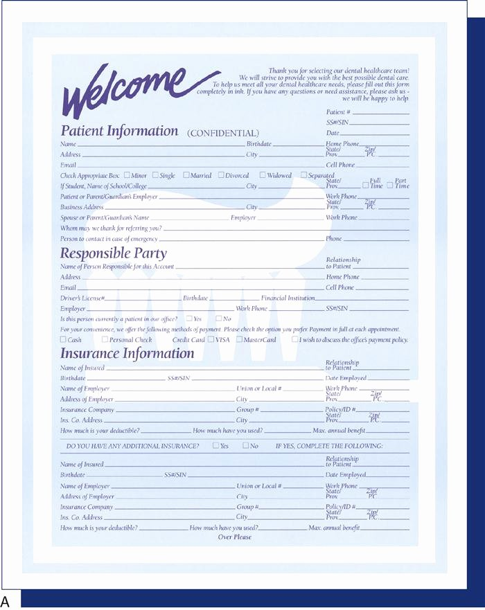 Dental Patient Registration form Template Elegant 7 Working with Dental Fice Documents