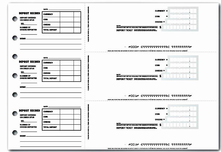 Deposit Slip Template Word Elegant 7 Best Credit Note Template Excel & Word Pdf