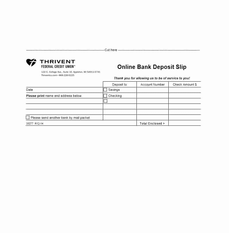 Deposit Slip Template Word Lovely 37 Bank Deposit Slip Templates & Examples Template Lab