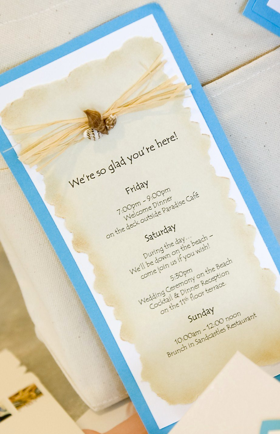 Destination Wedding Itinerary Template Beautiful Susan Snyder Beach Wedding Guest tote Bags