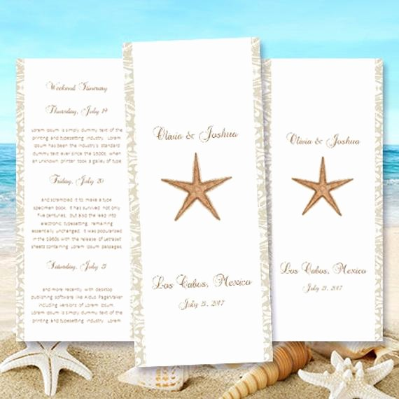 Destination Wedding Itinerary Template Lovely Destination Wedding Itinerary Template Starfish