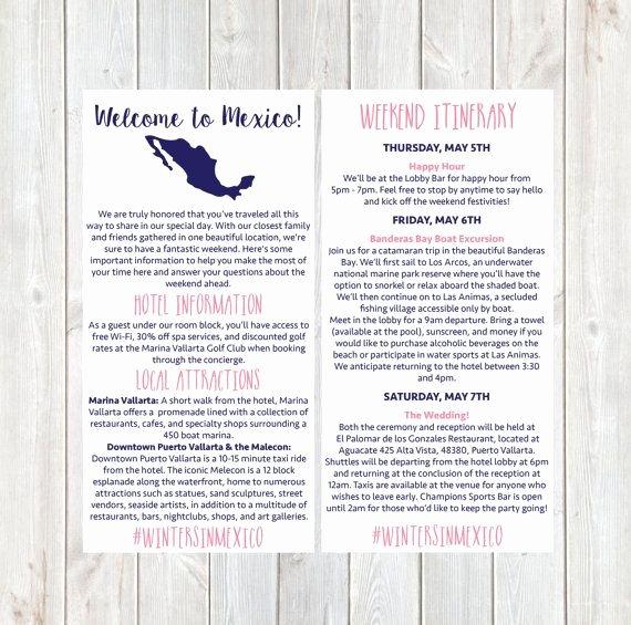 Destination Wedding Itinerary Template Luxury 25 Cute Destination Wedding Itinerary Ideas On Pinterest
