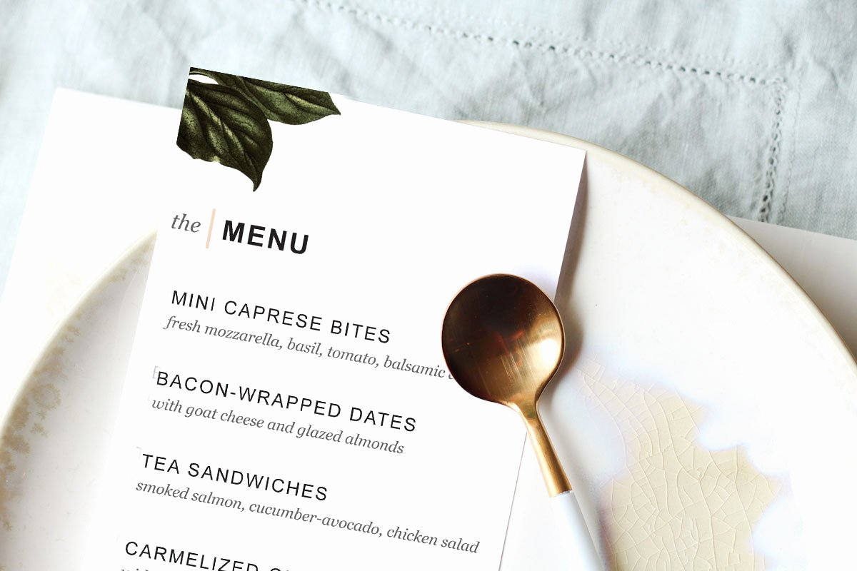 Dinner Party Menu Templates Awesome Printable Dinner Party Menu Template Design Create