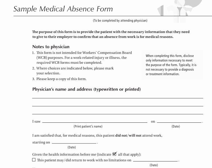 Doctor Excuse Note Template Beautiful 27 Free Doctor Note Excuse Templates Free Template
