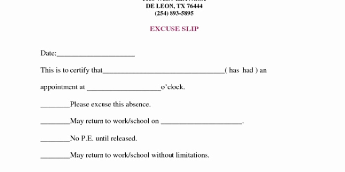Doctors Note Template Pdf Awesome Fake Doctors Note Template – 27 Free Word Pot Pdf