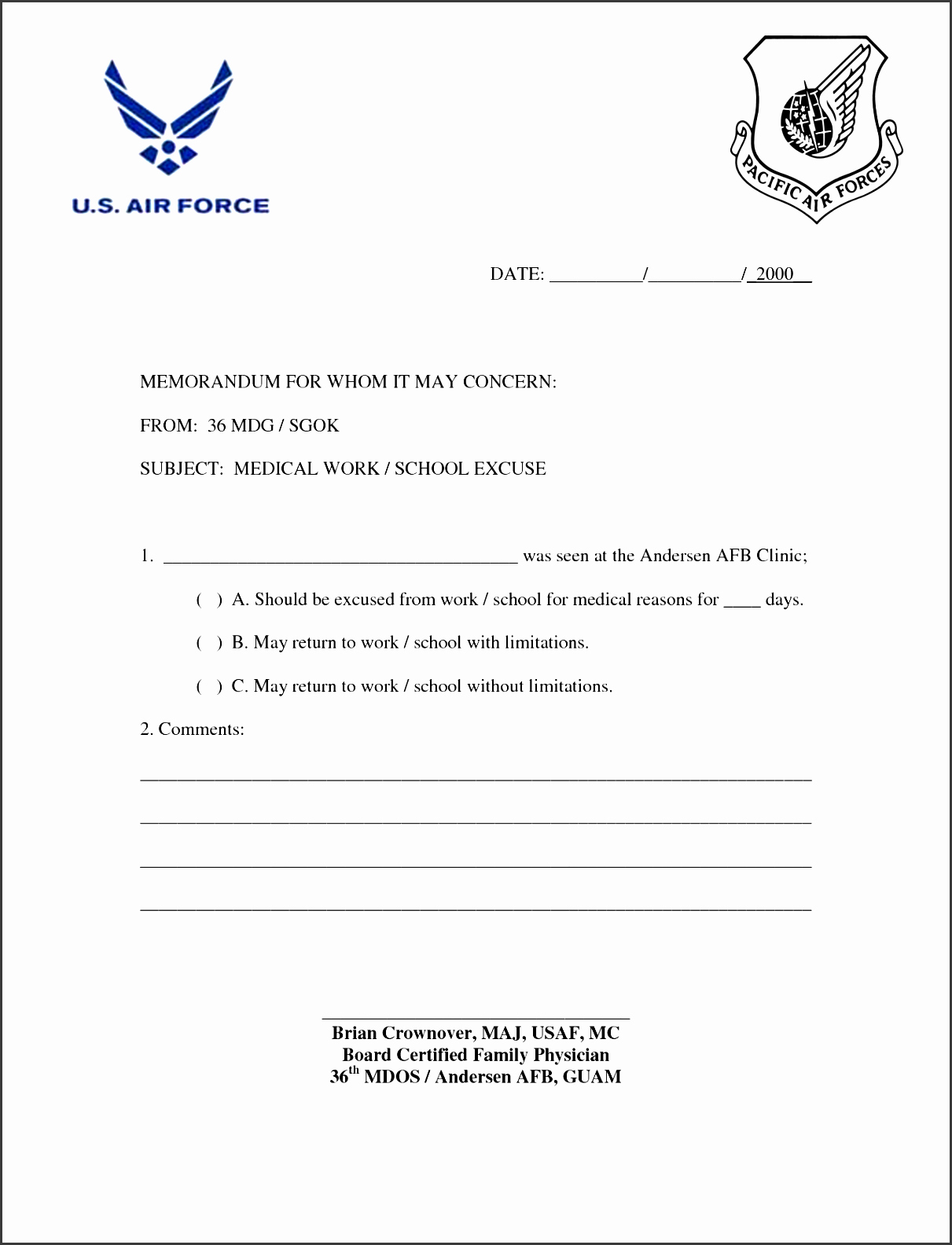 Doctors Note Template Pdf Fresh 7 Easy to Use Doctor Note Template Sampletemplatess