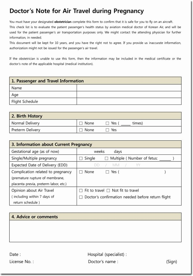 Doctors Note Template Word Beautiful Doctor S Note Templates 28 Blank formats to Create