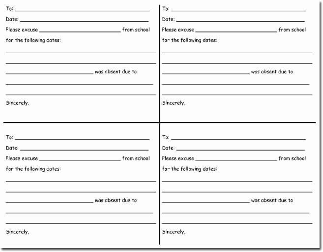 Doctors Note Template Word Unique Doctor S Note Templates 28 Blank formats to Create