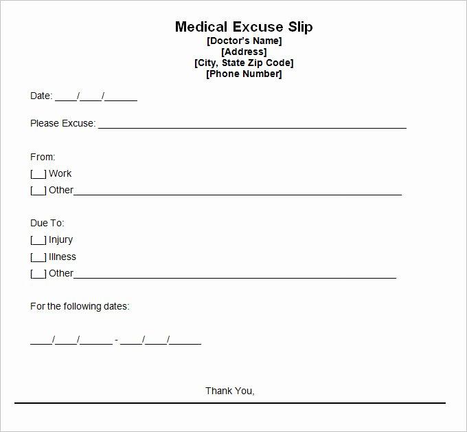 Doctors Notes for School Template Best Of 9 Best Free Doctors Note Templates for Work