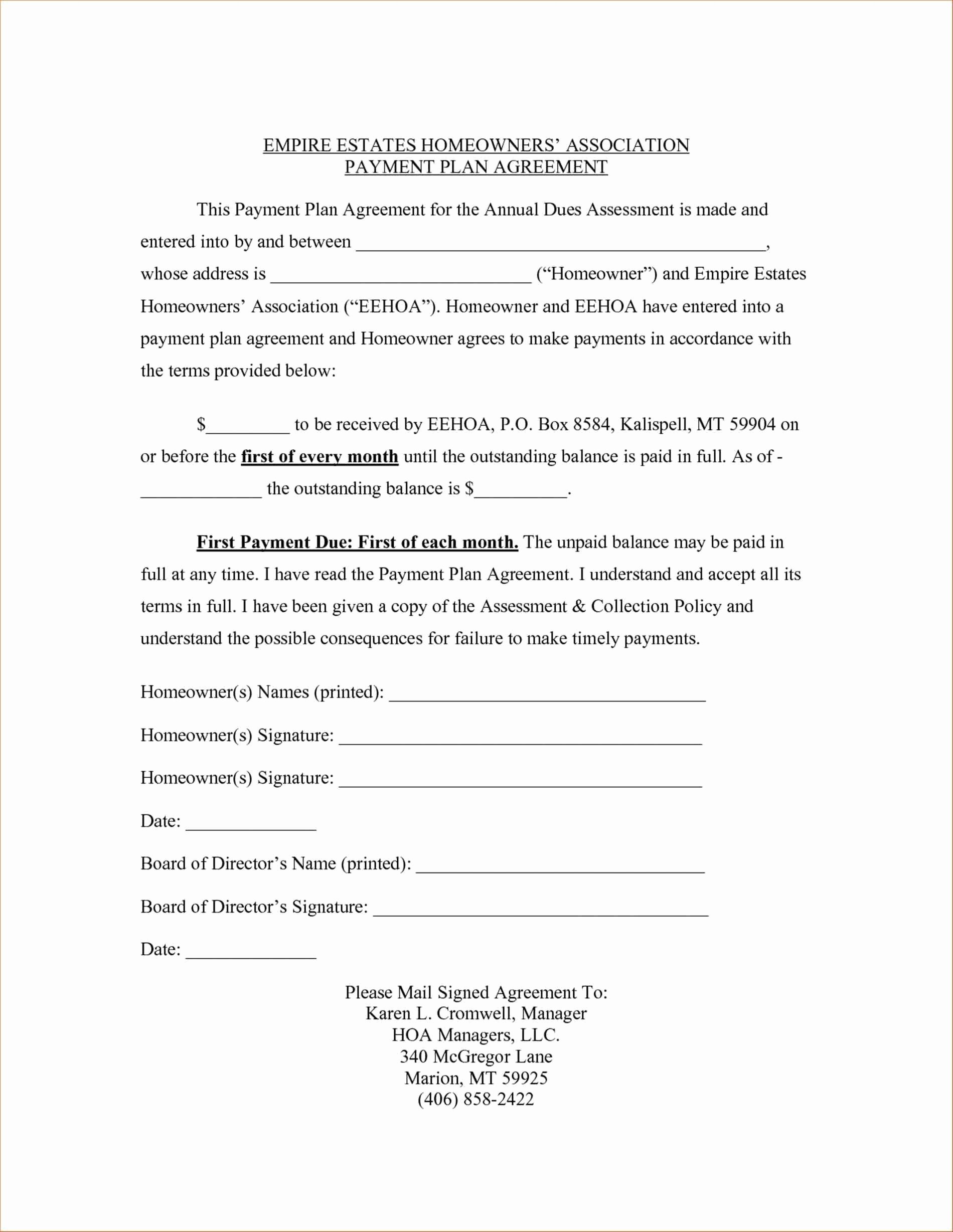 Dog Training Contract Template Beautiful Image Result for Payment Plan Contract Agreement Template