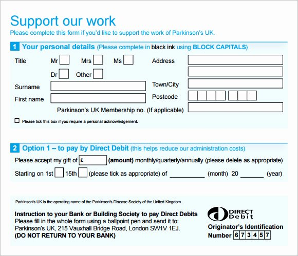 Donation form Template Pdf Elegant Sample Donation Sheet 9 Documents In Pdf Word