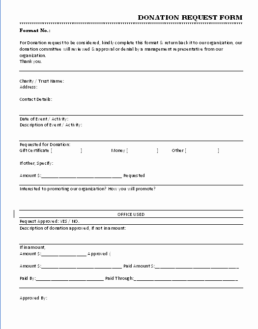 Donation form Template Pdf Lovely 36 Free Donation form Templates In Word Excel Pdf