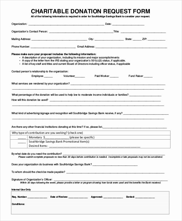 Donation Request form Template Best Of 10 Sample Donation Request forms Pdf Word