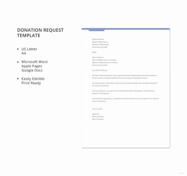 Donation Request form Template Elegant Letter Requesting Message for souvenir Program