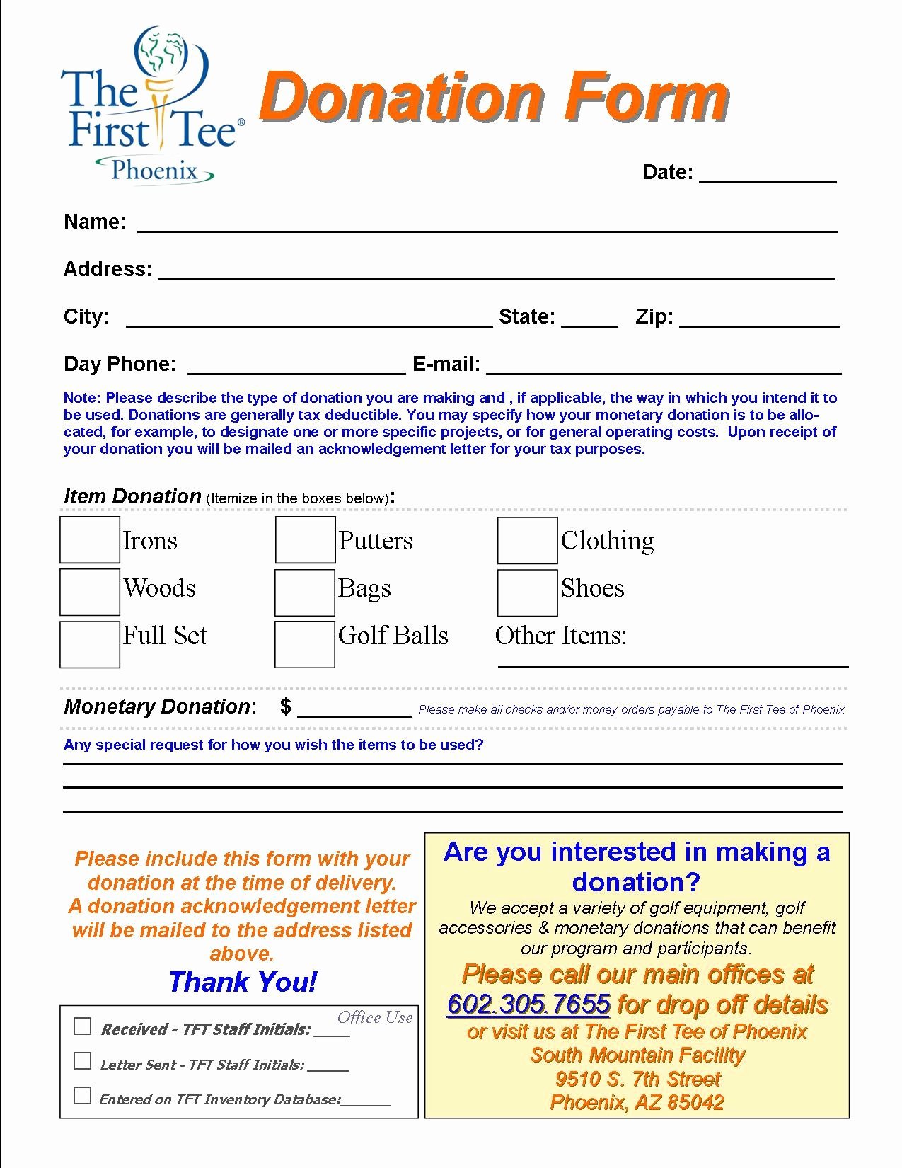 Donation Request forms Template Beautiful Charitable Donation form Template