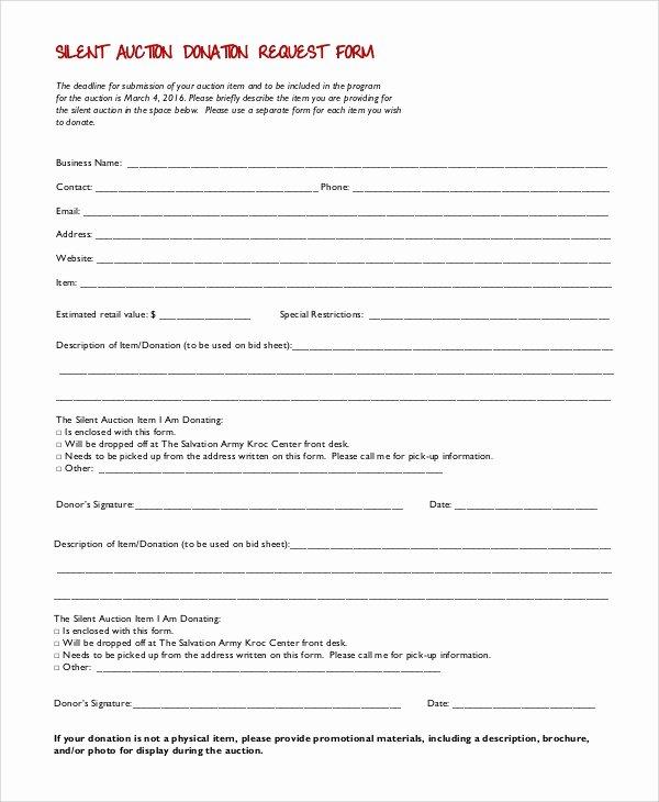 Donation Request forms Template Unique 10 Sample Donation Request forms Pdf Word